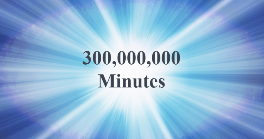 300,000,000 Minutes: Helping Our Country to Heal
